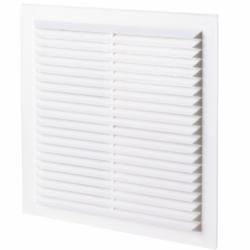 Grila dreptunghiulara plata 192*192 - Accesorii ventilatie grile pvc si metalice