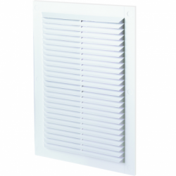 Grila dreptunghiulara plata 170*238mm - Accesorii ventilatie grile pvc si metalice