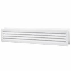 Grila ventilatie pentru usa 80*429mm - Accesorii ventilatie grile pvc si metalice