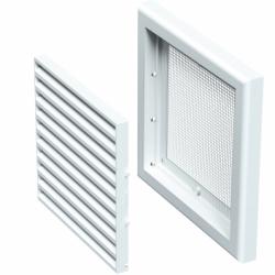 Grila ventilatie 154*154mm - Accesorii ventilatie grile pvc si metalice