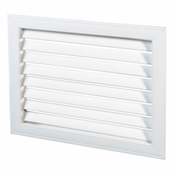 Grila plastic liniara 350*350mm - Accesorii ventilatie grile pvc si metalice