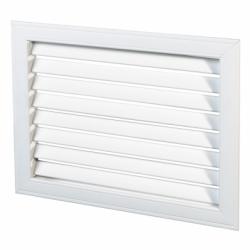 Grila plastic liniara 400*400mm - Accesorii ventilatie grile pvc si metalice