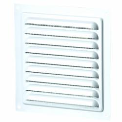 Grila aluminiu cu plasa antiinsecte, 155*155mm - Accesorii ventilatie grile pvc si metalice