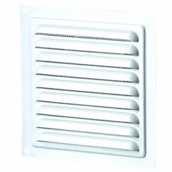 Grila aluminiu cu plasa antiinsecte, 200*200mm - Accesorii ventilatie grile pvc si metalice