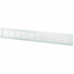 Grila montaj usa aluminiu anod, aluminiu 400*100mm - Accesorii ventilatie grile pvc si metalice