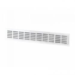 Grila ventilatie mecanica 370*40mm - Accesorii ventilatie grile pvc si metalice