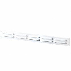 Grila ventilatie mecanica 500*90mm - Accesorii ventilatie grile pvc si metalice