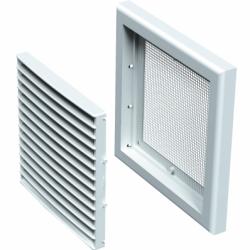 Grila ventilatie 187*187mm - Accesorii ventilatie grile pvc si metalice