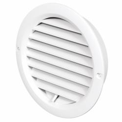 Grila rotunda cu reglaj diam 125 - Accesorii ventilatie grile pvc si metalice