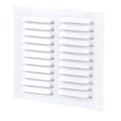 Grila otel 250*200mm, cu plasa antiinsecte - Accesorii ventilatie grile pvc si metalice