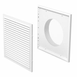 Grila 250/200mm - Accesorii ventilatie grile pvc si metalice