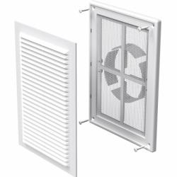 Grila dreptunghiulara diam 100-150mm, 182*251mm - Accesorii ventilatie grile pvc si metalice