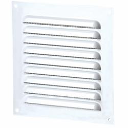 Grila metalica cu plasa 100*100mm - Accesorii ventilatie grile pvc si metalice