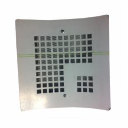 Grila decorativa semineu 172*172mm - Accesorii ventilatie grile pvc si metalice