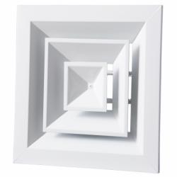 Anemostat metalic rectangular 600*600mm - Accesorii ventilatie grile pvc si metalice