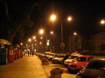 Iluminat stradal, Calea Victoriei - Sibiu - Executie sisteme de iluminare