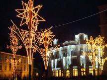 Piata Mare, Primaria Sibiu - 2007-2008 - Executie sisteme de iluminare
