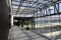 Prelucrare sticla complex de birouri Baneasa Business & Technology Park - Complex de birouri Baneasa Business