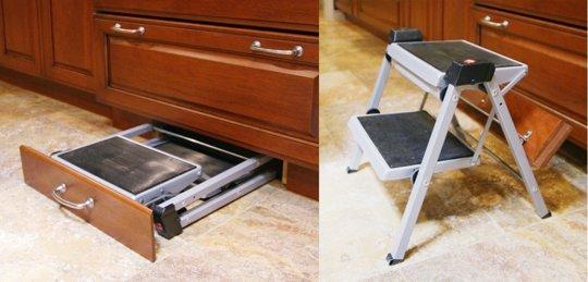 Ingeniozitate in folosirea spatiului pentru un plus de depozitare - Ingeniozitate in folosirea spatiului pentru un