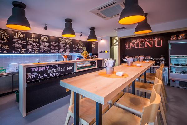 Amenajarea restaurantului Japanos - Japanos - o amenajare perfectă ca să RAMEN la tine!