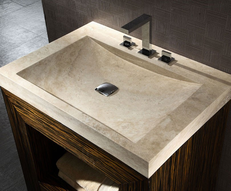 Chiuveta din polimeri, cu aspect de marmura - Cum alegem chiuveta potrivita pentru baie?