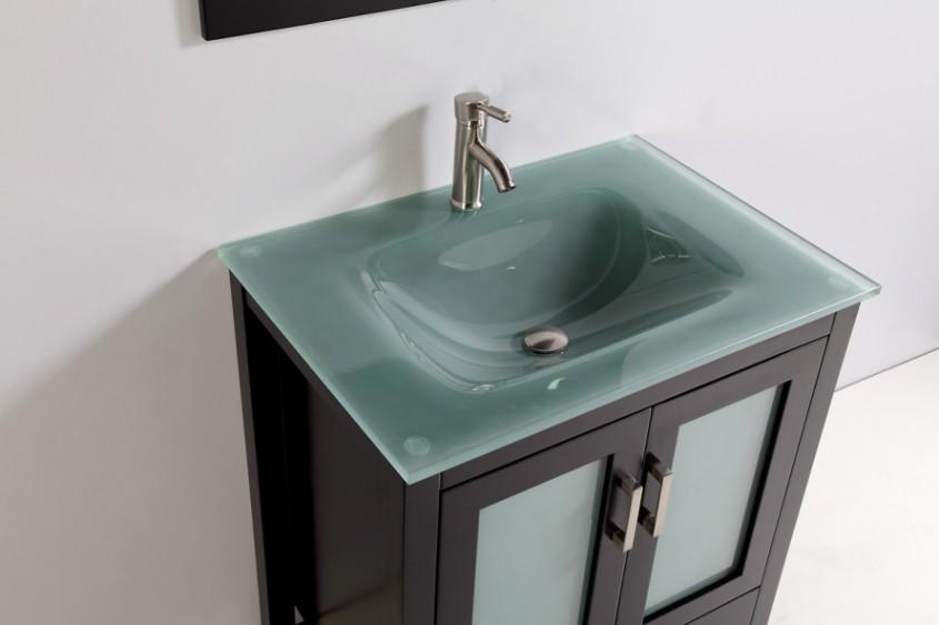 Chiuveta din sticla - Cum alegem chiuveta potrivita pentru baie?