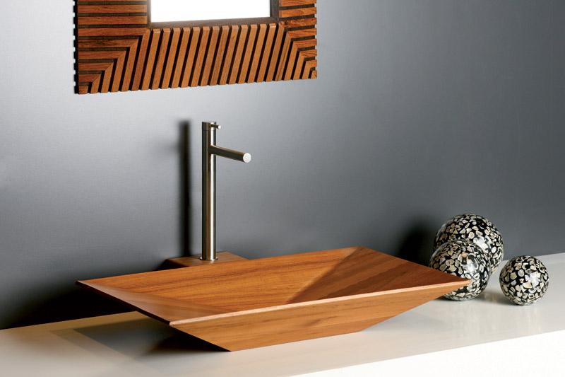 Lemn - Cum alegem chiuveta potrivita pentru baie?