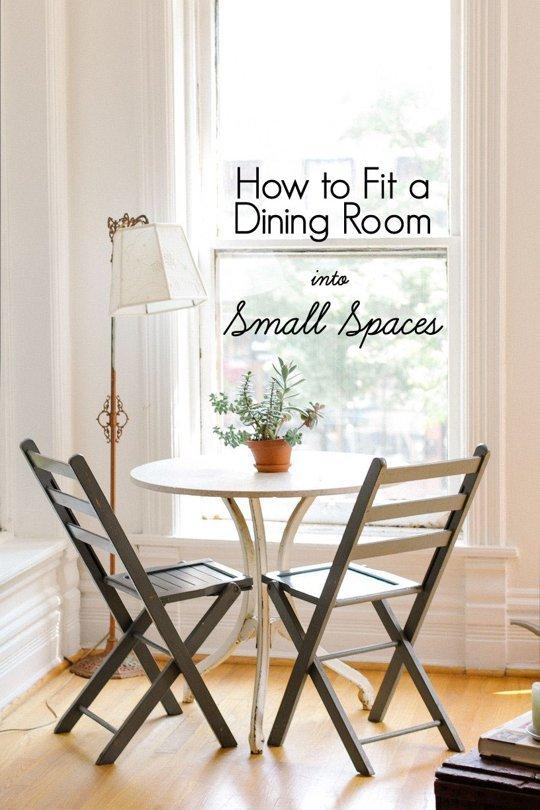 Cum sa gasim spatiu pentru locul de luat masa - Cum sa gasim spatiu pentru locul