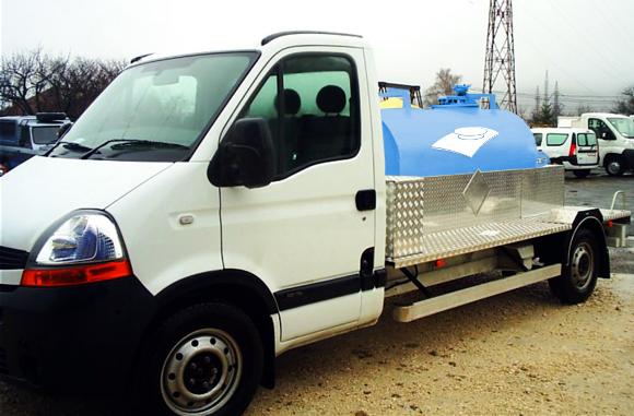 Sistem mobil irigat - Rezervoarele din fibra - o solutie optima