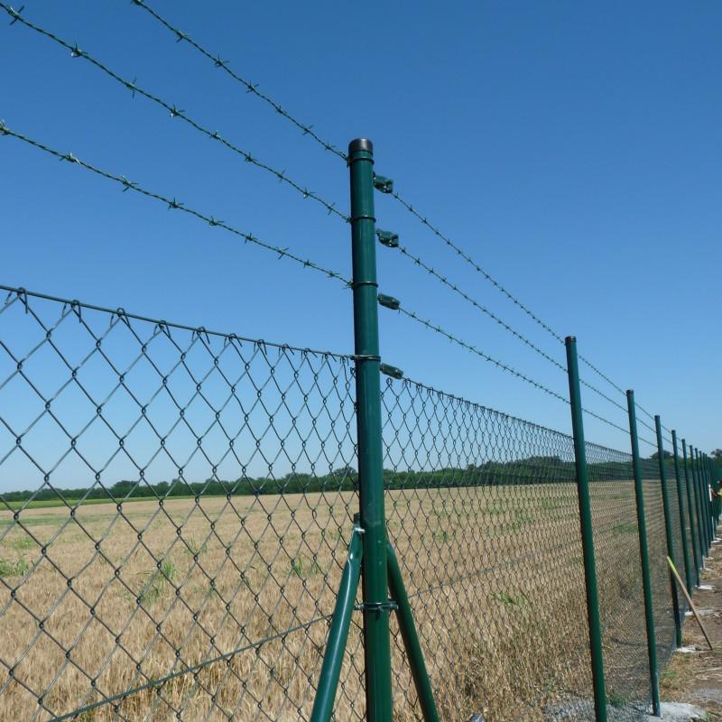 Stalpii rotunzi - potriviti pentru orice tip de gard metali - Stalpii rotunzi - potriviti pentru