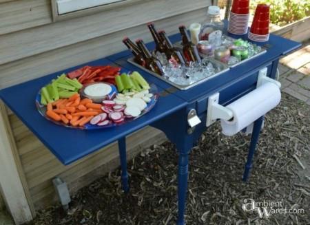 sewing-table-after - Integrează vechea mobilă într-un decor nou