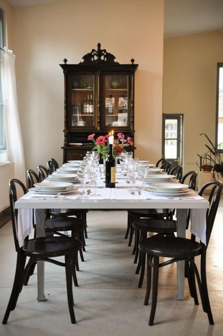 Sala de mese - Casele de Oaspeti Cincsor - o restaurare excelenta pentru turismul autentic