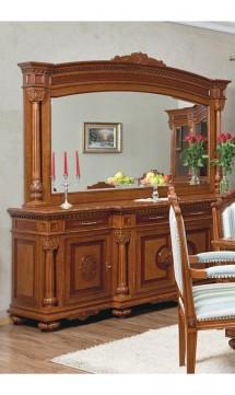 Bufet - vitrina Alyona - Mobila sufragerie lemn masiv Alyona