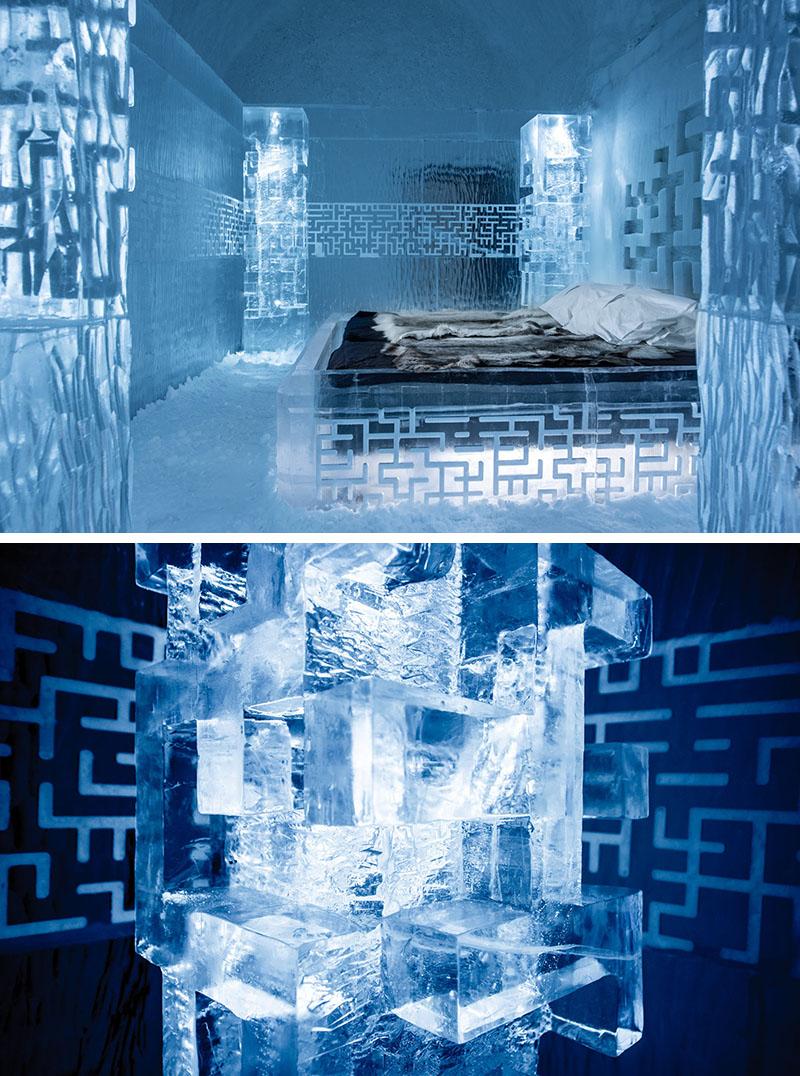 Apartamentele Deluxe Suites - Design deosebit pentru un hotel de gheata