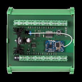 Distribuitor debitmetre pentru sina DIN - SLZA 16 - Sisteme de dusuri cu monezi