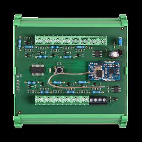 Distribuitor butoane de comanda pentru sina DIN - SLZA 17 - Sisteme de dusuri cu monezi