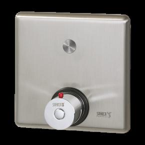 Control pentru dus cu buton piezo si debitmetru - SLZA 20PKT - Sisteme de dusuri cu monezi