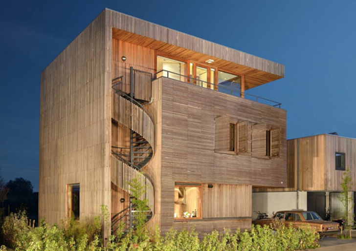 Egeon-Architecture-timber-frame-house-13 - Casa eficienta energetic