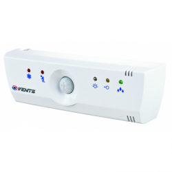 Dispozitiv de control ventilatoare echipat cu intrerupator fir,timer,senzor umiditate,senzor miscare,senzor lumina - Accesorii ventilatie variatoare/termostate/dispozitive control