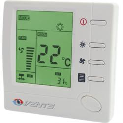 Termostat +10...+30C, cu variator de turatie 3 viteze, LCD, max 2A, max 400W, 230V - Accesorii ventilatie variatoare/termostate/dispozitive control