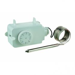 Termostat aer/gaz/lichid -30+30C, 16A, lungime senzor 150mm - Accesorii ventilatie variatoare/termostate/dispozitive control