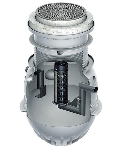 Oleopator P - Separatoare de lichide usoare