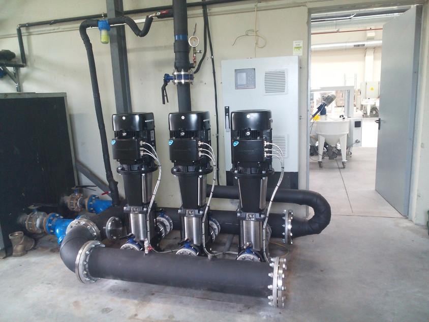 Instalare grup de pompare - Despre eliminarea fierului si manganului din apa