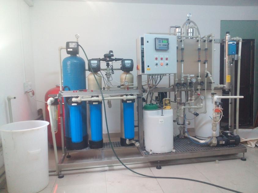 Sistem pentru demineralizare - Despre eliminarea fierului si manganului din apa