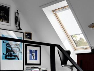 Rulou economic cu pozitionare in 3 puncte - RHL - Rulouri pentru ferestre de mansarda