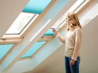 Rulou plisat FHL - Rulouri pentru ferestre de mansarda