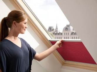 Rulou plisat opac FHC - Rulouri pentru ferestre de mansarda