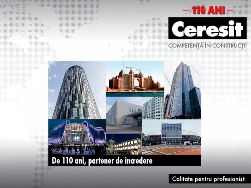CERESIT - 110 ani de competenta in constructii - CERESIT - 110 ani de competenta in