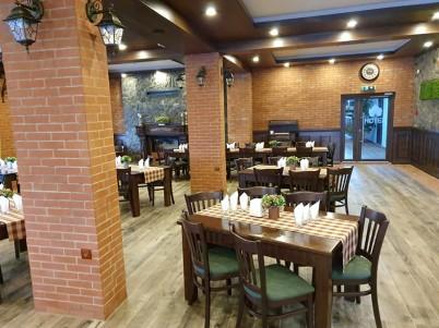 Amenajare restaurant cu caramida aparenta IERO BRICK - Prezentare amenajri cu caramida IERO BRICK