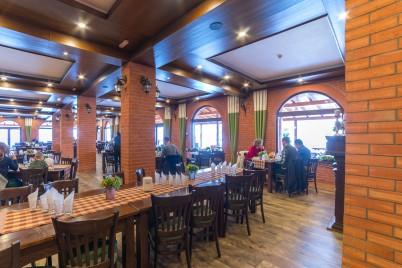 Amenajarea interioara a unui restaurant cu caramida aparenta IERO BRICK - Prezentare amenajari cu caramida IERO